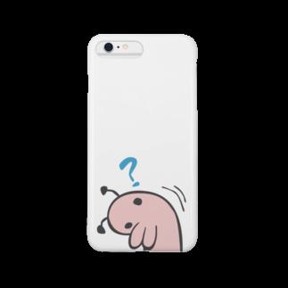 タキヲ@スタンプ販売「どうぶつくん」のどうぶつくん(ぎもん?) Smartphone cases