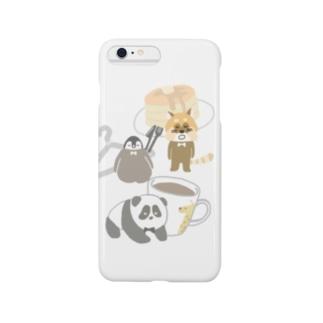 ほっこりティータイム Smartphone cases