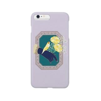 Carnation 胡錦鳥 Smartphone cases