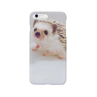 ハリネズミこてつ Smartphone cases