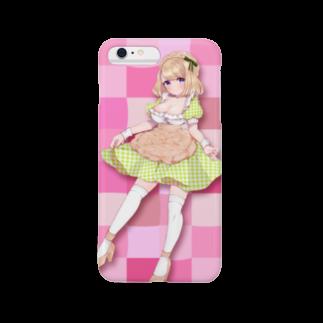 Melo104のメロンパン イメージキャラ Smartphone cases