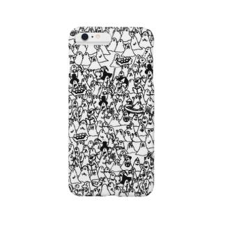 おばけくんうじゃうじゃmono Smartphone cases