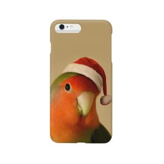 サンタインコ Smartphone cases