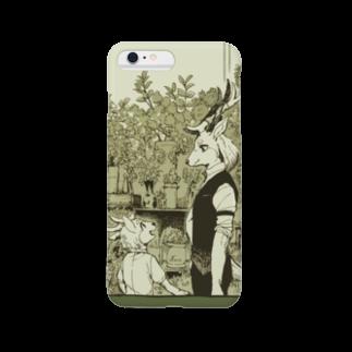 BARE FEET/猫田博人の贈り物を探しに・スマフォケース Smartphone cases
