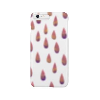水彩画のしずく Smartphone cases