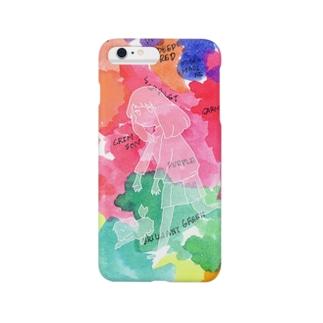 色の地図 Smartphone cases