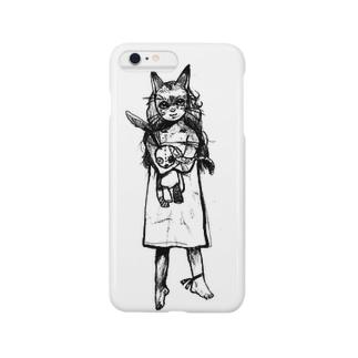 猫の子 Smartphone cases