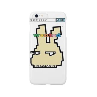 うさぎ0517★wanted ver.2 Smartphone cases
