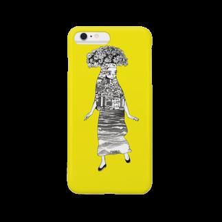 にんにんのフラワー族 Smartphone cases