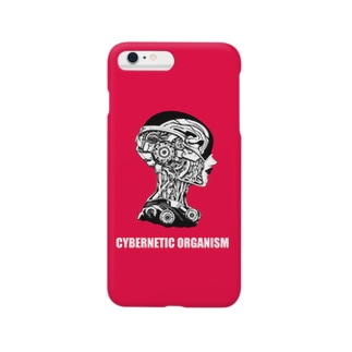 Cybernetic organism RED Smartphone cases