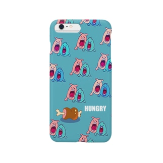 hungry monster Smartphone cases