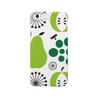 昭和の台所スマフォケース  [その壱](緑) Smartphone cases