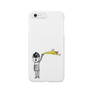黄色いハンカチのお兄さん Smartphone cases