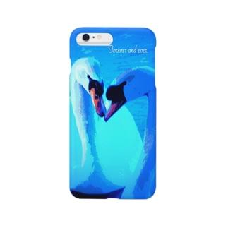 ペアの白鳥 Smartphone cases