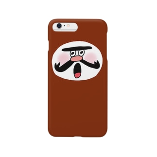 wakameだるま_RED Smartphone cases