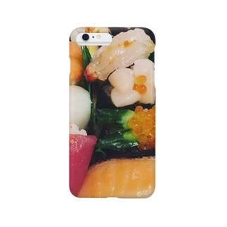 おいしそうなお寿司でしょ! Smartphone cases