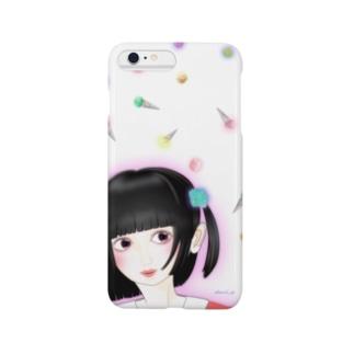 空カラフルアイス Smartphone cases