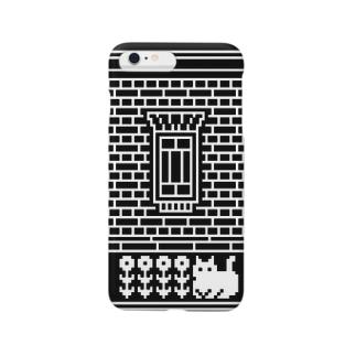 洋館と猫 Smartphone cases