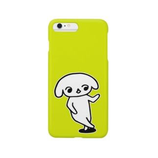 ゆるしますよ(黄緑) Smartphone cases