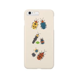 カラフルポップなハムシ Smartphone cases