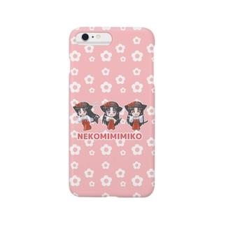 ねこみみ巫女 Smartphone cases