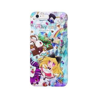 創作アリスiPhoneケース*Pink Smartphone cases