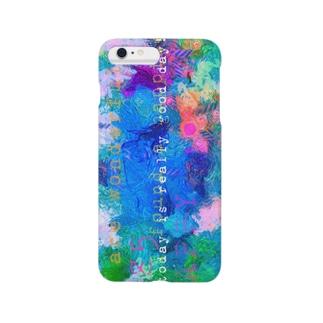カラフルクレヨンマジック★ Smartphone cases