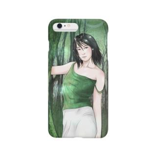 Forest Woman スマートフォンケース