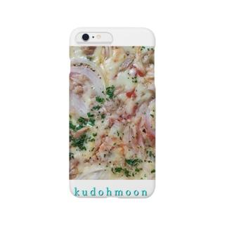 クドームーン ピザiPhoneケース Smartphone cases