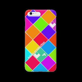 k4senのk4sen x yomosuke k4sen logo designスマートフォンケース