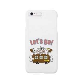 ホワイティ29カー Smartphone cases