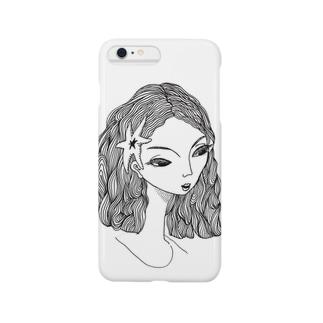 きつそうな美人 Smartphone cases