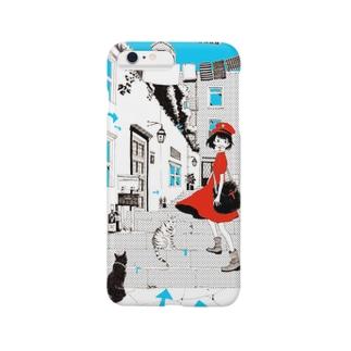 郵便ガール Smartphone cases