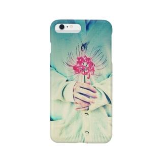 少女と彼岸花 Smartphone cases