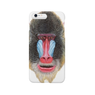 マンドリル Smartphone cases