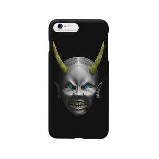 身近な般若 Smartphone cases