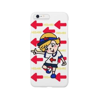 ヒダリくん! Smartphone cases