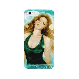 Mulher hermosa : dea del mare Smartphone cases