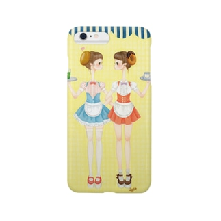 ベーグルガールとドーナツ娘 Smartphone cases