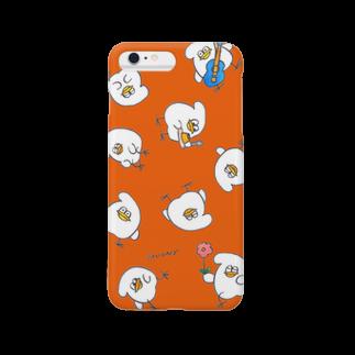 mugny shopのとりもちの一日 (しゅいろ) Smartphone cases