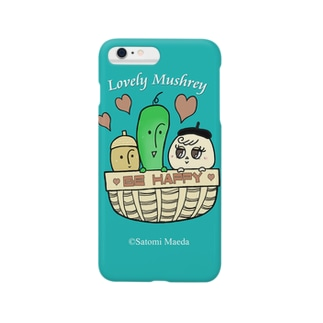 Lovely Mushrey iPhonecase : Be happy Smartphone cases