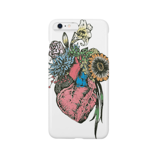 TAMMY storeのThe bloom of youth Smartphone cases