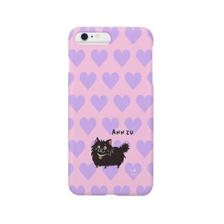 iPhone6 Plus用[佐藤家ペットシリーズ] ハートとあんずさん Smartphone cases