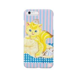 iPhone6 Plus用 [フルーツ猫・Sweetsシリーズ] Crepe house MUSA Smartphone cases