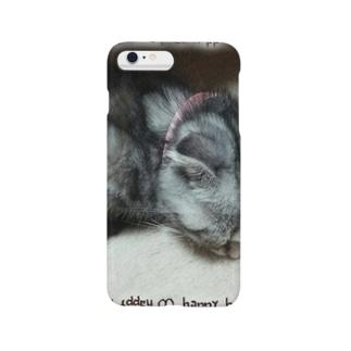*猫シリーズ*マロマロおねむにゃん(=゚ω゚=) Smartphone cases