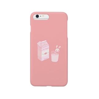 いちごみるく(ゆめかわいい) Smartphone cases
