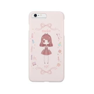 make up!(ゆめかわいい) Smartphone cases