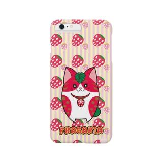 iPhone6 Plus用 [フルーツ猫シリーズ]いちごの猫・フラガリア Smartphone cases