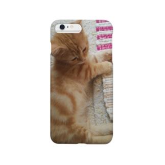 *猫シリーズ*黄昏時 Smartphone cases