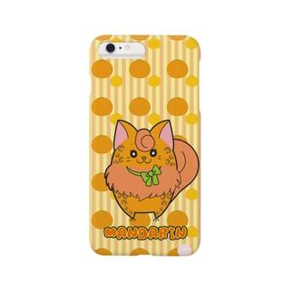 iPhone6 Plus用 [フルーツ猫シリーズ]みかんの猫・マンダリン Smartphone cases